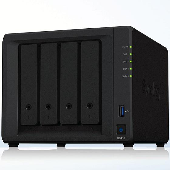Synology DS418 inkl. 24TB (4x6TB)