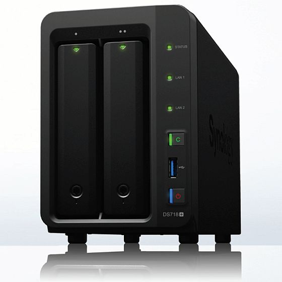 Synology NAS DS718+ -6GB RAM inkl. 8TB (2x 4TB)